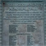 St George Ontario Memorial Tablet– Rudolph H. Sass's name is included on this St. George Ontario Memorial Tablet.  His attestation confirms that he was from St. George Ontario.
