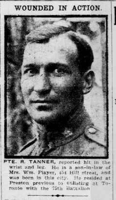 Newspaper clipping– From the London Free Press November 1916. Submitted for the project Operation Picture Me