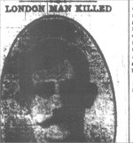 Newspaper Clipping– Pte. William Hails was born in South Shields, England on December 22nd, 1882. He enlisted in London, Ontario, on August 25th, 1915.