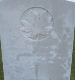 Grave Marker– Photo courtesy of Keith Boswell, England