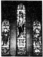 Memorial Stained Glass– Julius Jeffrey Gordon Richardson memorial stained glass memorial window (1929) by Charles William Kelsey, in the St. Andrew's United Church, 46 Rue Dupont W J6J 1G3 Chateauguay. Mountainside United Church was formerly known as St. Andrew's-Dominion Douglas United Church. http://www.mountainsideunited.ca/