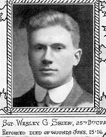 Photo of Wesley George Shier