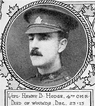 Photo of Henry Boyd Hodge