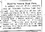 Newspaper Clipping– From the Toronto Star for 5 April 1916.