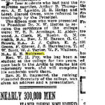 """Newspaper Clipping– Globe, Toronto. """"Canada's Heritage"""" archive online. 1916, Apr. 15 p5 part 2 of 2"""