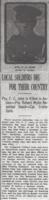 Newspaper clipping– From the Daily Colonist of October 14, 1915. Image taken from web address of https://archive.org/stream/dailycolonist57y264uvic#mode/1up