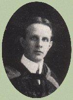 Photo of Herbert Monkman– Torontonensis 1906 (University of Toronto Yearbook), pg. 179.  Caption:  HERBERT STANLEY MONKMAN, Phm. B.  Councillor 1st Year Literacy Society Trinity Medical College; Assistant Treasurer Medical Society, Toronto Medical College.
