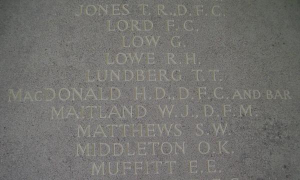 Runnymede Memorial– Inscription - September 2010 … photo courtesy of Marg Liessens