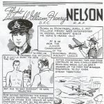 Illustrated article– Flight Lieutenant William Henry Nelson is honoured in this illustrated article published by the Canadian Jewish Congress.  This extract is provided courtesy of the Canadian Jewish Congress which holds the copyright for this volume.  For additional information about these archival records, please contact: The Canadian Jewish Congress National Archives  1590 Ave. Docteur Penfield, Montreal, Que. H3G 1C5 (Canada) telephone: 514-931-7531 ex. 2  facsimile:  514-931-0548  website:     www.cjc.ca