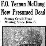 Coupure de presse – Source:  Hamilton Spectator, le 29 décembre 1945