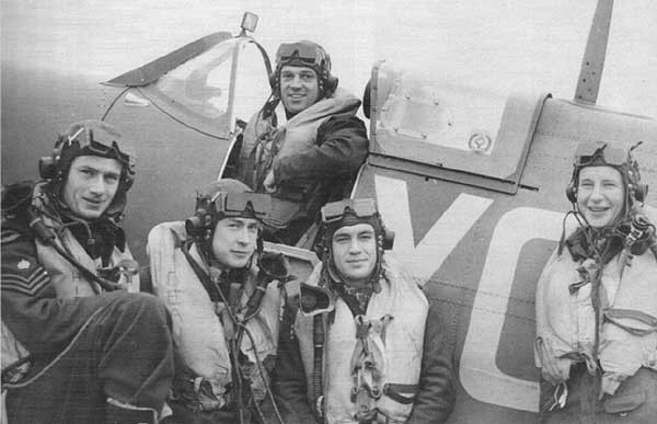 Group Photo– Deane in Spitfire
