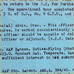 Document– General Information Sheet  page 2 Here are comments by McMillans superiors about his ability.