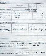 Document– Page 2 Here McMillan lists his flying experience as none.  In three years he will be flying photo recce flights over Europe in an unarmed Spitfire.  It was signed 21 Oct 1940.  Source: Whitehouse via Archives Canada