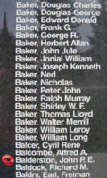 Memorial– Flight Sergeant John Percival Ernest Balderston is also commemorated on the Bomber Command Memorial Wall in Nanton, AB … photo courtesy of Marg Liessens