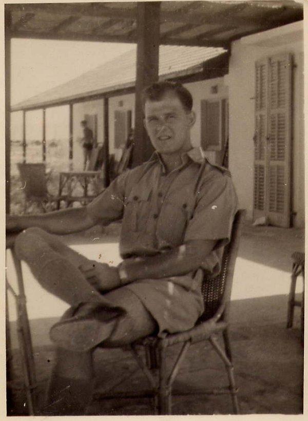 Photo of Ross Bertran in St. Jean