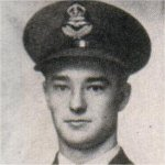 Photo of Robert Wilfred Alexander– Awarded the D.F.C. for heroic service in the Middle East in April 1942. Reported missing September 21, 1944, after carrying out his mission of dropping supplies for paratroopers at Arnhem.