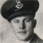 Photo of Leonard Ralph Belcher– Flying Officer Leonard Ralph Belcher was reported missing after a bombing mission over Hanna, Germany, on January 6, 1945.