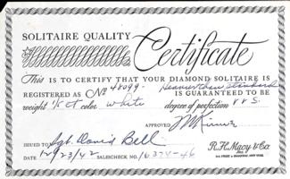 Certificate– Submitted for the project, Operation Picture Me
