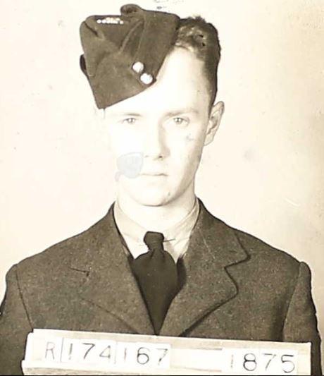 Photo of EDWIN SPENCER CHARLES CLARK– RCAF photo
