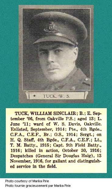Photo of William Sinclair Tuck