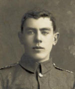 Photo of Frederick Henry Pope– Frederick Henry Pope in the uniform of the 1st Wiltshire Rifle Volunteers in 1907.