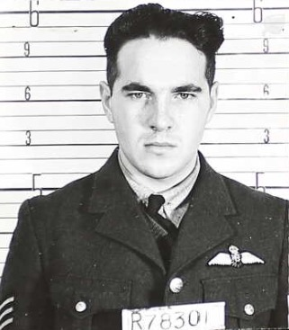 Photo of John Charles Elliott– From his Canadian military service records.