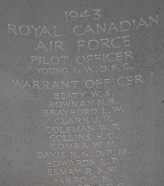 Memorial– Inscription - Runnymede Memorial - September 2010 … photo courtesy of Marg Liessens