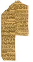 Newspaper clipping– Jack Evans was Wm.D. (Bill) MacMonagle's close friend. My father, Ken Dressler, and Jack Evans went to Canada to volunteer. Ken eventually joined the USAAF flying gliders, my father flew Sterling bombers, and Jack joined the Eagle Squadron.  This clip from the Akron Beacon journal in 1942 shows how well liked Jack was and that my father remembered him fondly.