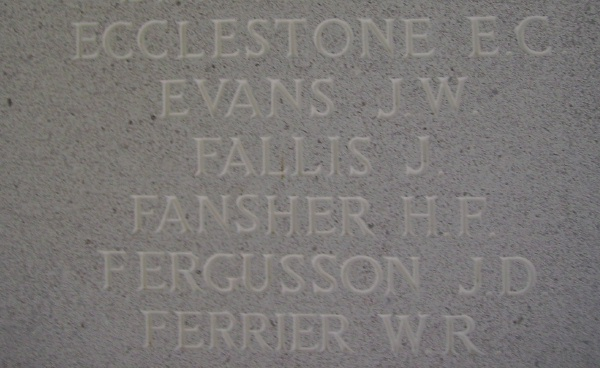 Inscription– Runnymede Memorial - September 2010 … photo courtesy of Marg Liessens