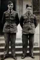 Photo of RONALD FINNIE– Ronald on left. Submitted for the project, Operation Picture Me