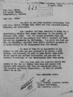 Letter– Letter to Mrs. Gibbs, explaining the circumstances of her son's crash.  LAC, Ottawa.