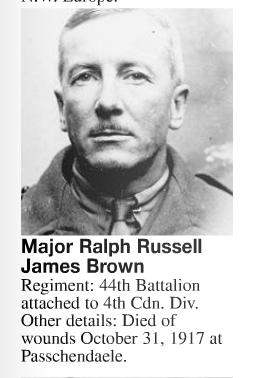 Photo of RALPH RUSSELL JAMES BROWN– Submitted for the project, Operation: Picture Me