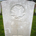 Grave Marker– Inscription: