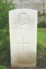 Grave Marker– Photo courtesy of Wilf Schofield, England
