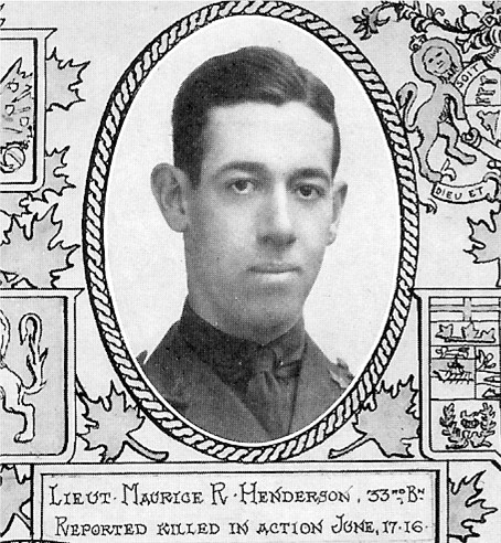 Photo of Maurice Russell Henderson