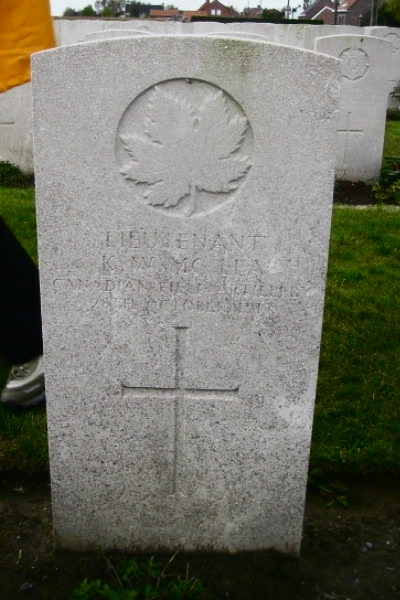 Grave Marker– Brandhoek New Military Cemetery No 3 … photo courtesy of Marg Liessens