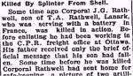 Newspaper Clipping (2)– From the Perth Courier for 12 April 1918.