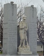 Monument commémoratif de guerre Merriton Ontario