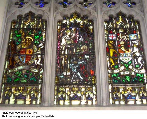 Fenêtre Commémorative de la première Guerre