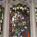 Fenêtre Commémorative de la première Guerre – Fenêtres commémoratives de la Première Guerre mondiale situées au Metropolitan United Church, à Toronto en Ontario.