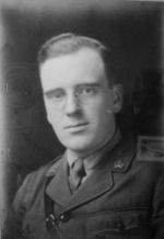 Photo of Frank Quinlan– Frank Quinlan 5th Pioneers taken at the studios of Elliot & Fry 55 Baker St. London England