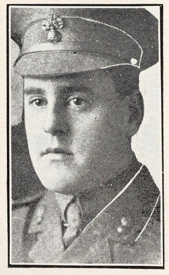 Photo of KENNETH CLAUDE CAMPBELL– Photo from the National Memorial Album of Canadian Heroes c.1919. Submitted for the project, Operation: Picture Me.