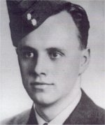 Photo of James Kendall Goodfellow– R156428 Flight Sergeant James K. Goodfellow Born 29-12-23 Former student of Lawrence Park Collegiate Institute (Toronto)