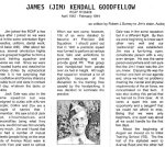 Story on James Goodfellow (Page 1)