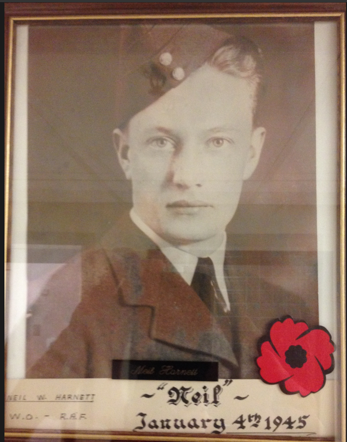 Photo of NEIL WILLOUGHBY HARNETT– In memory of the men and women from Newfoundland who went away to war and did not come home. Submitted for the project, Operation Picture Me