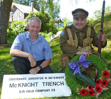 Newspaper Clipping– McKnight Trench http://www.tricitynews.com/news/264803921.html?mobile=true