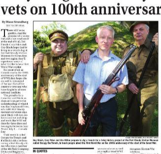 Newspaper Clipping– Augustus McKnight honoured http://issuu.com/blackpress/docs/i20140618070855752/5