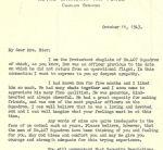 Letter (October 11, 1943)