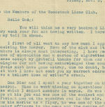 """Letter (November 5, 1943)– Pauline Brown (Don Bier's sister) told a story that Don McAskile was in the Officers Mess on September 27, 1943 when he heard Don Bier's voice came on the wireless radio and said """"They are on my tail!"""""""