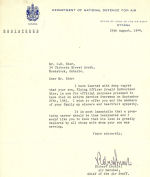 Letter (August 29, 1944)